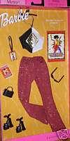 ROCK n ROLL Barbie Doll Fashion Avenue Halter Clothes