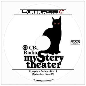 CBS MYSTERY THEATER Old Time Radio COMPLETE SERIES DVD