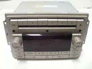 lincoln navigator mkz mkx zephyr radio 6 disc changer cd. Black Bedroom Furniture Sets. Home Design Ideas