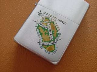 Vintage Zippo Military Lighter  Thule AFB, Greenland .