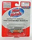 Classic Metal Works Mini Metal 187 HO 1953 Ford Country Squire Wood
