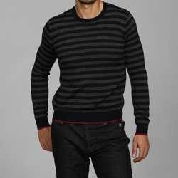 Antony Morato Mens Slim Fit Crewneck Wool Blend Sweater