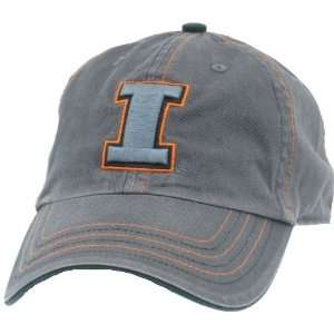 Mens University of Illinois Fighting Illini Charcoal