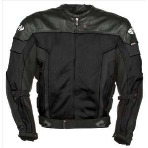 JOE ROCKET REACTOR 2.0 JACKET (LARGE) (BLACK) Automotive