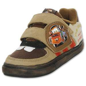NEW Toddler Boy ADIDAS Cars 2 Tow Mater Brown Sneakers Shoes Size 6