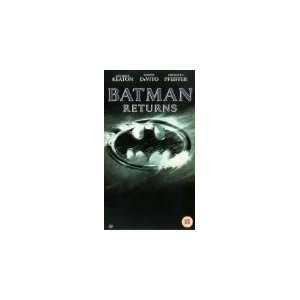 Batman Returns [VHS] Michael Keaton, Danny DeVito