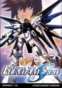 GUNDAM SEED The Complete [ Episodes 1 50 ] TV Series DVD Collection