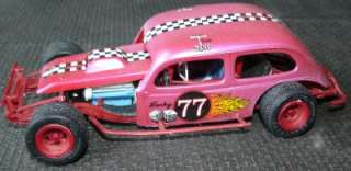 24  1/25 built model modified race car