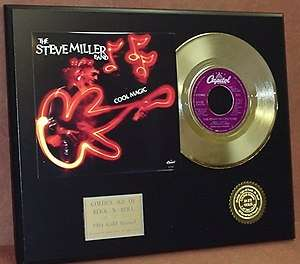 Band 24k Gold Record Limited Edition Music Gift Only 500 Made Rare