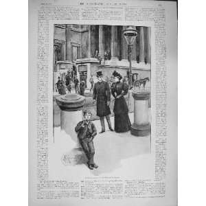 1894 PALL MALL LONDON YOUNG BOY MAN WOMAN ROMANCE  Home
