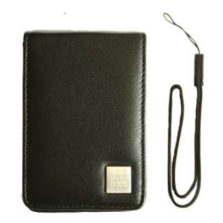 Genuine CANON IXUS Compact Camera Soft Leather Case Pouch For 75 80IS