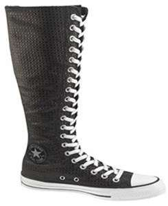 CONVERSE~Chuck Taylor Knee High~BLACK BELUGA~ALL SIZES