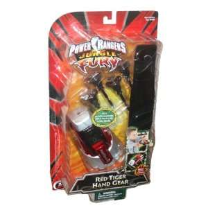 Power Rangers Jungle Fury Action Figure Weapon Accessory   Red Tiger