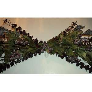Grape Vine Silk Flower Swag: Home & Kitchen