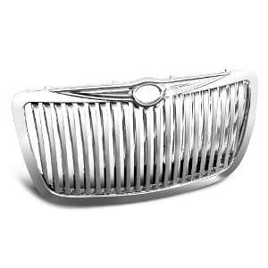 CHRYSLER 300 300C CHROME VERTICAL FRONT GRILL GRILLE