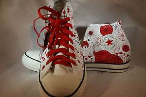 WOMENS Converse Chuck Taylor All Star Product Red Owl Hi