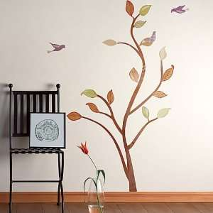 Birds & Tree   Large Wall Decals Stickers Appliques Home