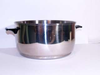 WATERLESS COOKWARE 13.7 ELECTRIC SKILLET AND HUGE 8QT. ROASTER 1960s