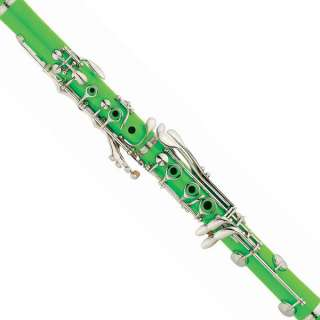 New Black Blue Green Purple Red or White Bb Clarinet