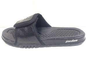 JORDAN HYDRO 2 SZ8 Black Silver 312527 001 Men Sandal slipper slide