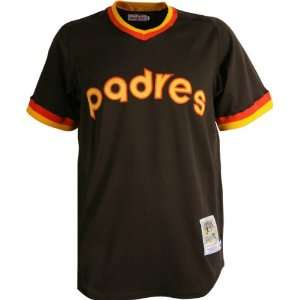 Ness Authentic 1982 Road San Diego Padres Jersey