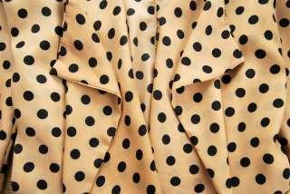 Korea Women Lady personality Dot Chiffon Cardigan Blouse Tops Shirts