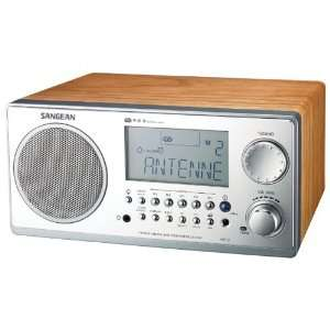 New SANGEAN WR2WAL DIGITAL AM/FM STEREO SYSTEM WITH LCD & ALARM CLOCK