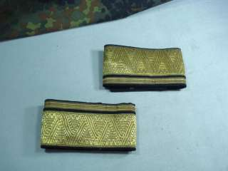 WWII GERMAN ALLY GENERAL GOLD UNIFORM SLEEVE CUFF BANDS