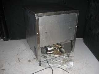 Stainless Steel Undercounter 1 Door Refrigerator Model# TUC 27