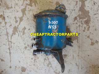 FORD TRACTOR POWER STEERING PUMP RESERVOIR 3000 5000