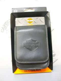 Harley Davidson   Black Portable GPS Case   06279