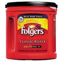 Folgers   Classic Roast Ground Coffee, 33.9 oz