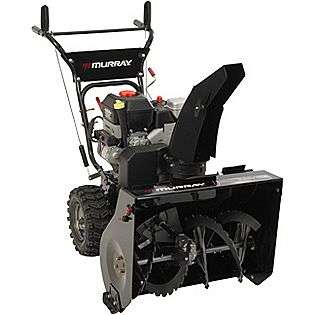 24 Dual Sage Snow Blower  Murray Lawn & Garden Snow Removal