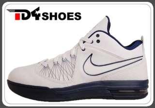 IV 4 White Navy LeBron James Basketball Shoes 456815 101