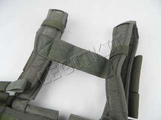 Eagle Ind MPCR Multi Purpose Chest Rig Split Front Ranger Green Vest