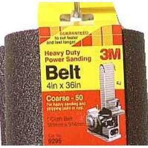 3M 9295NA Heavy Duty Power Sanding Belts, 4 Inch x 36 Inch