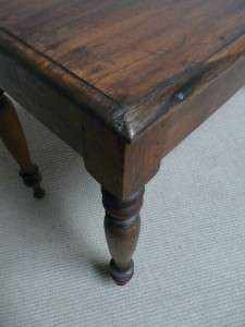 ANTIQUE FARM HARVEST TABLE FRENCH PROVINCIAL COUNTRY RUSTIC PRIMITIVE