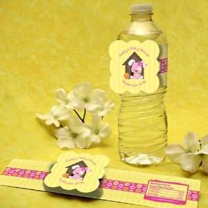 Dog   Water Bottle Labels   Personalized Baby Shower Favors Toys
