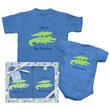 Play Brother & Sister Gift Set   Alligator (Newborn & Toddler Sizes