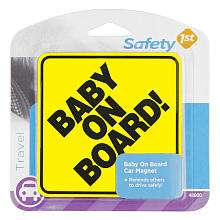 Safety 1st Baby On Board Car Magnet   Safety 1st   BabiesRUs