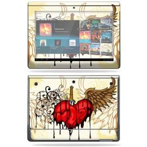 Vinyl Skin Decal Cover for Sony Tablet S Stabbing Heart Electronics