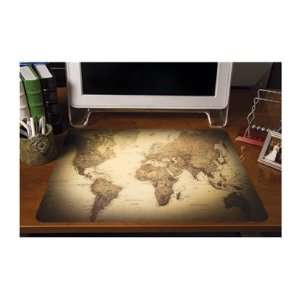 ES Robbins Design Series World Map Deskpad Office