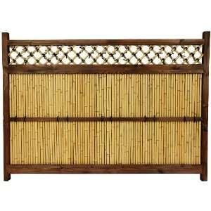 ft. x 5 ½ ft. Japanese Bamboo Zen Garden Fence Patio, Lawn & Garden