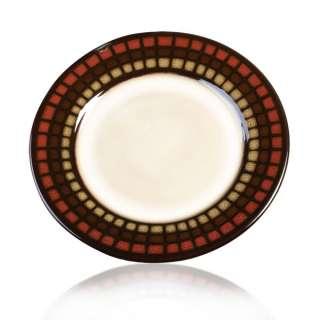 Gourmet Basics by Mikasa Isili Red Salad Plate, 7 3/4 885991026662