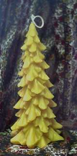 Silicone Tall Pine Christmas Tree Soap Candle Mold