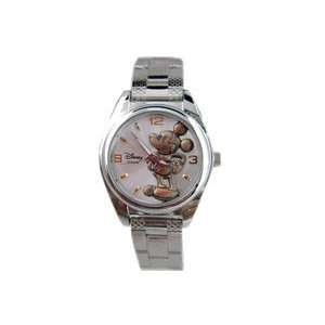 Disney Mickey Mouse Watch   3D dial w/ bracelet watch