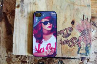 Rihanna Apple Iphone 4 / 4s case pop music hip hop roc jay z drake lil