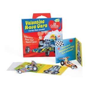 Funny Valentine 28 Card Super Packs, in Race Cars Toys & Games