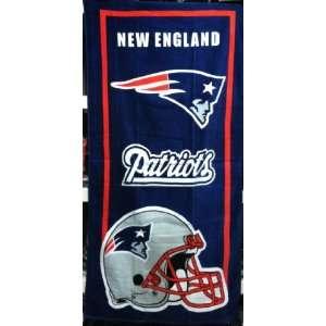 NFL New England Patriots Helmet Fiber Reactive Pool / Bath / Beach