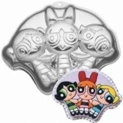 POWERPUFF GIRLS Birthday Party Supplies Wilton CAKE PAN 070896990174